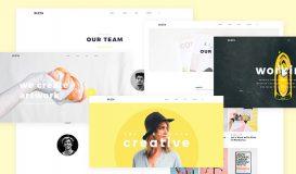 design website psd ui kleta